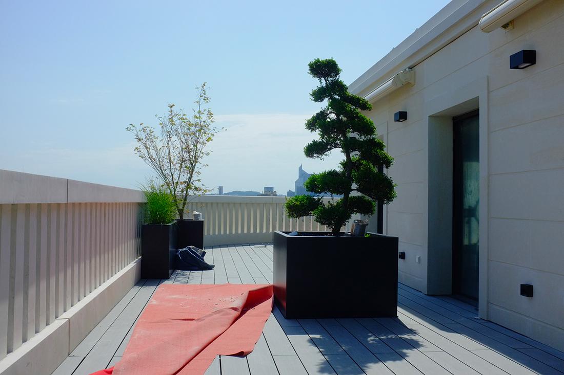 Terrasse toit paris